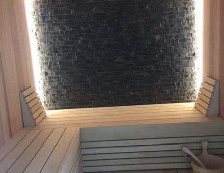 Sauna opbouw zwembaden lateur kluisbergen