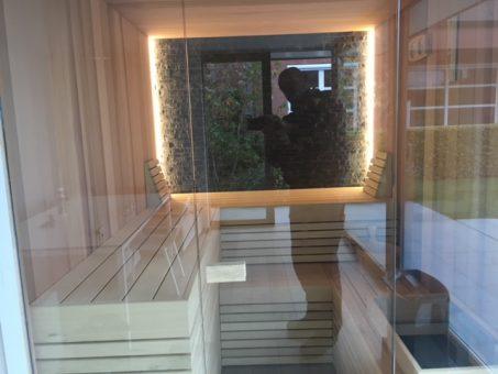 sauna opbouw